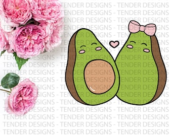Avo-Cuddle | Die Cuts | Planner Stickers