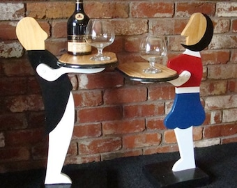 Geoffrey & Teresita Wooden Side Tables