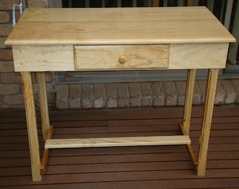 Study desk with drawer
