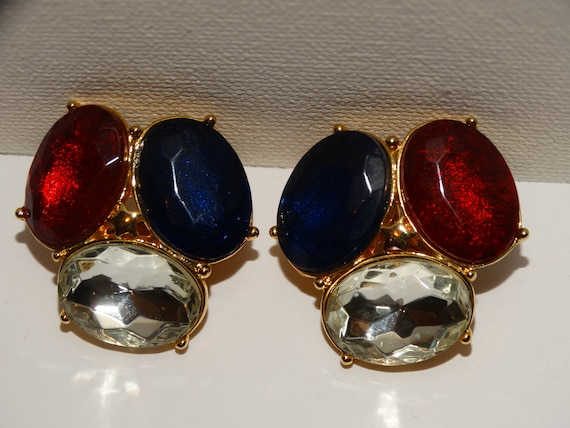 TRIFARI Clip On Earrings. - image 3