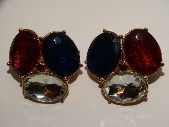 TRIFARI Clip On Earrings. - image 2