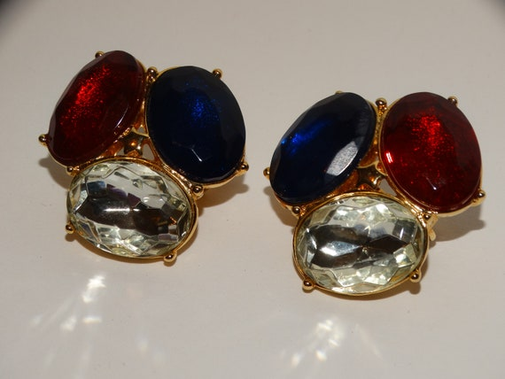 TRIFARI Clip On Earrings. - image 5