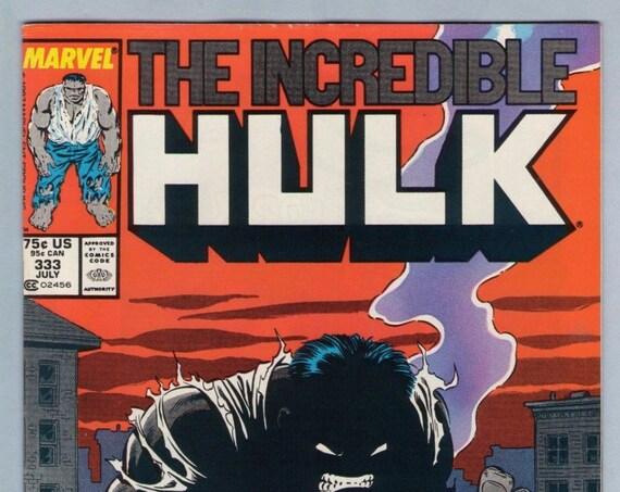 Incredible Hulk 333 Jul 1987 VF-NM (9.0)