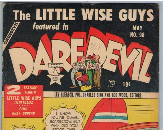 Daredevil Comics 98 May 1953 VG+ (4.5)
