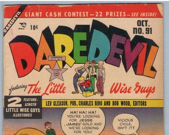 Daredevil Comics 91 Oct 1952 VG- (3.5)