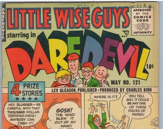 Daredevil Comics 121 May 1955 VG+ (4.5)