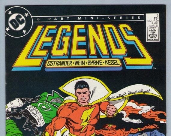Legends 5 Mar 1987 NM- (9.2)