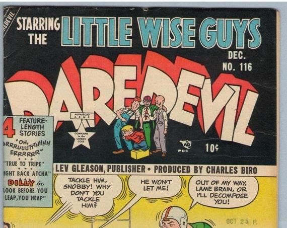 Daredevil Comics 116 Dec 1954 VG+ (4.5)