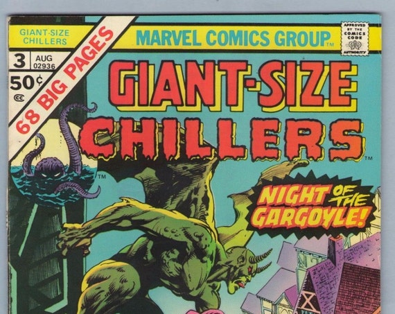 Giant-Size Chillers 3 Aug 1975 VF- (7.5)