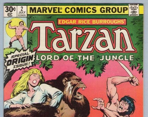 Tarzan (2nd series) 2 Jul 1977 NM- (9.2)