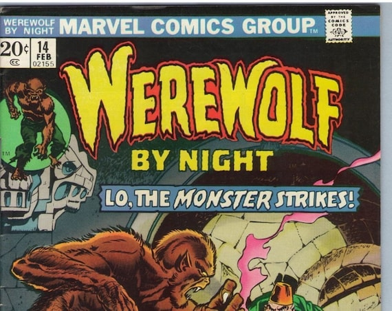 Werewolf by Night 14 Feb 1974 FI-VF (7.0)