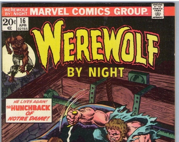 Werewolf by Night 16 Apr 1974 VF- (7.5)
