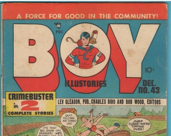 Boy Comics 43 Dec 1948 VG+ (4.5)