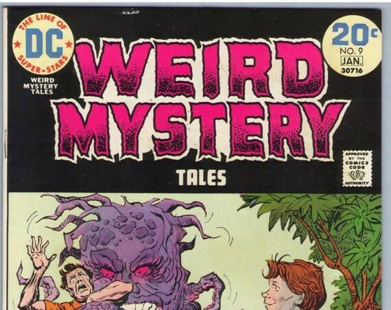 Weird Mystery Tales 9 Jan 1974 VF-NM (9.0)