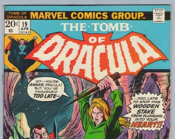 Tomb of Dracula 19 Apr 1974 NM- (9.2)