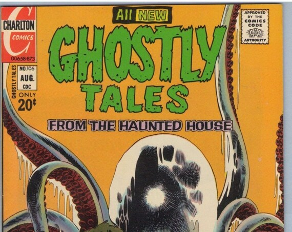 Ghostly Tales 106 Aug 1973 VF+ (8.5)