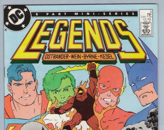 Legends 3 Jan 1987 NM- (9.2)