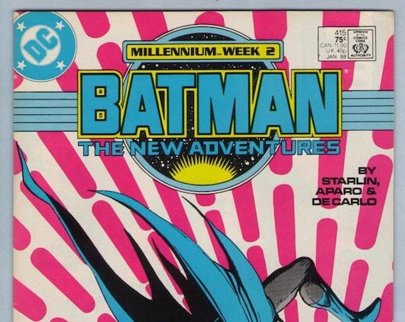 Batman 415 Jan 1988 VF-NM (9.0)