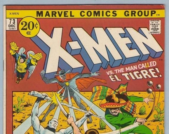 X-Men 73 Dec 1971 VF- (7.5)