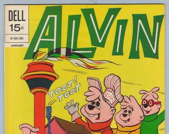 Alvin 23 Jan 1972 NM- (9.2)