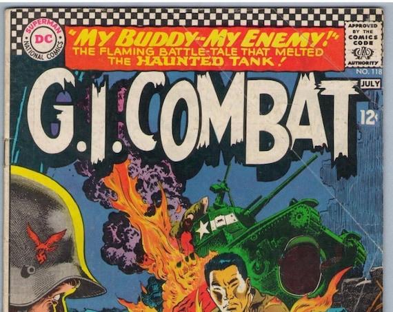 GI Combat 118 Jul 1966 VG- (3.5)