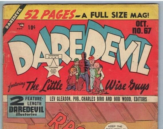 Daredevil Comics 67 Oct 1950 VG- (3.5)