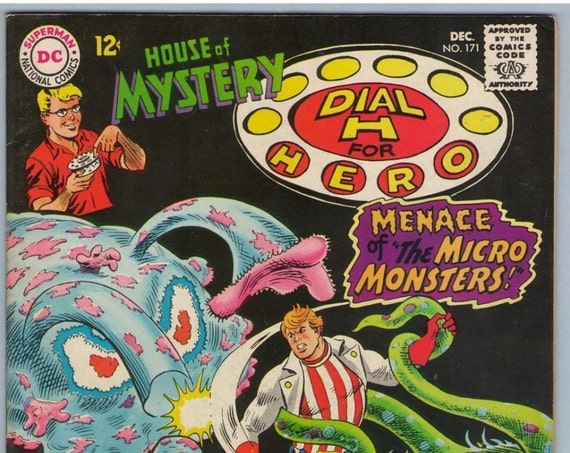 House of Mystery 171 Dec 1967 FI (6.0)