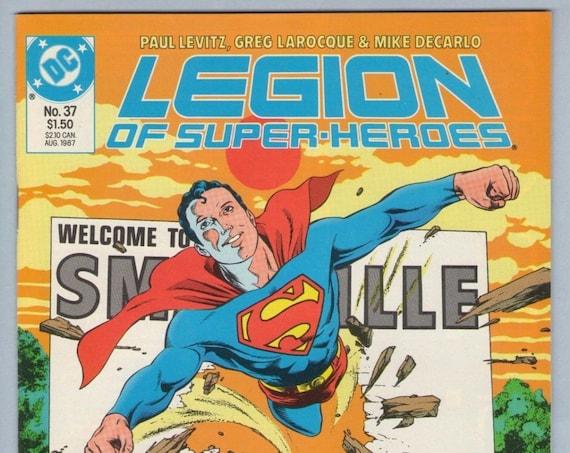 Legion of Super-heroes 37 Aug 1987 NM- (9.2)