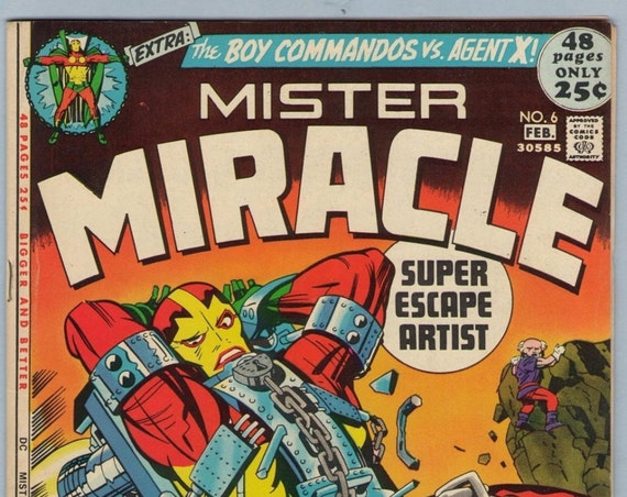 Mr. Miracle 6 Feb 1972 VF- (7.5)