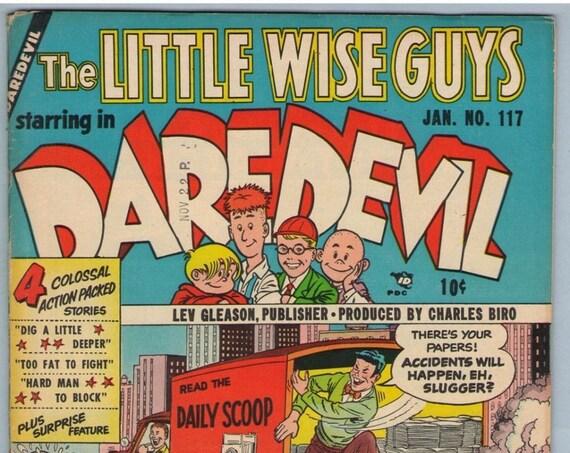 Daredevil Comics 117 Jan 1955 VG+ (4.5)