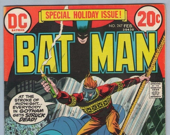 Batman 247 Feb 1973 FI- (5.5)