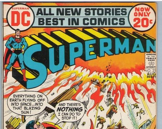 Superman 255 Aug 1972 FI- (5.5)