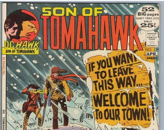 Tomahawk 139 Apr 1972 VF (8.0)