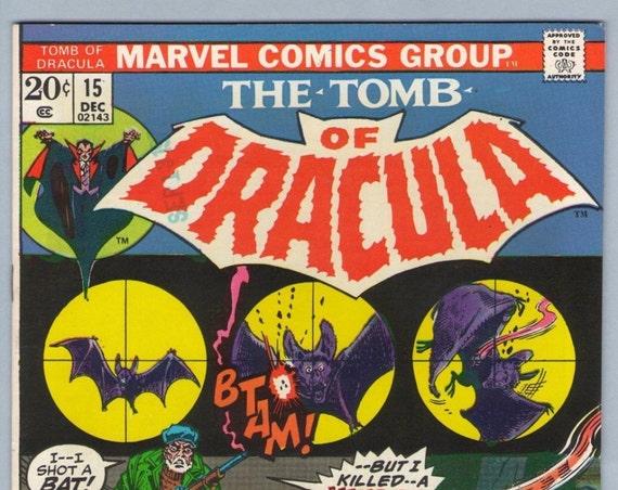 Tomb of Dracula 15 Dec 1973 VF-NM (9.0)