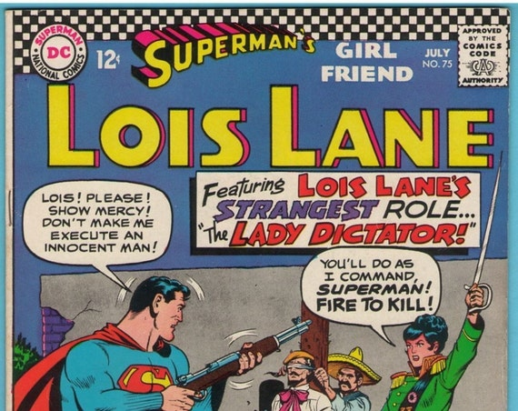 Superman's Girl Friend Lois Lane 75 Jul 1967 VF- (7.5)