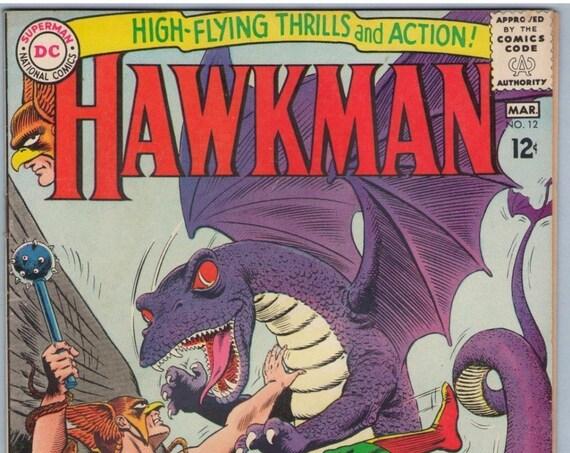 Hawkman 12 Mar 1966 VG+ (4.5)