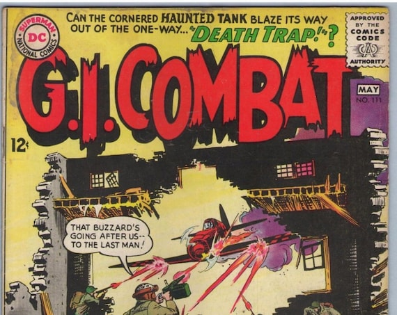 GI Combat 111 May 1965 VG (4.0)