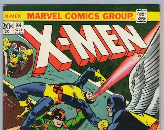 X-Men 84 Oct 1973 VF-NM (9.0)