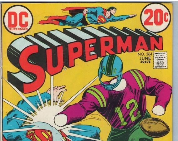 Superman 264 Jun 1973 FI- (5.5)