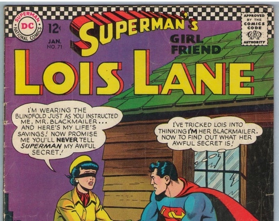 Superman's Girl Friend Lois Lane 71 Jan 1967 VG (4.0)
