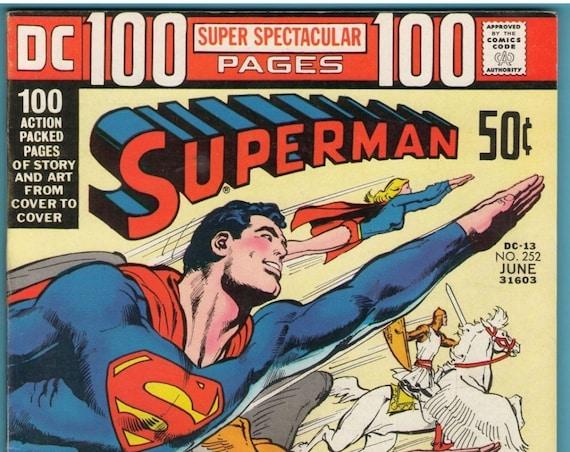 Superman 252 Jun 1972 FI+ (6.5)