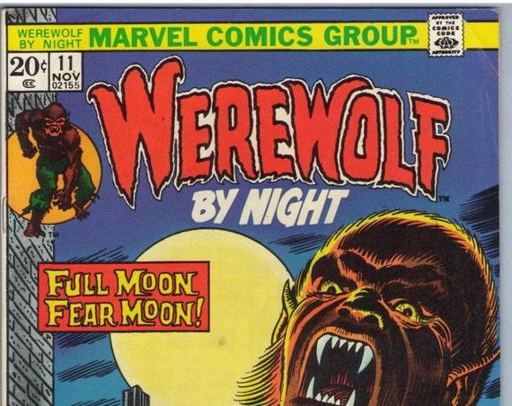Werewolf By Night 11  Nov 1973 NM- (9.0)