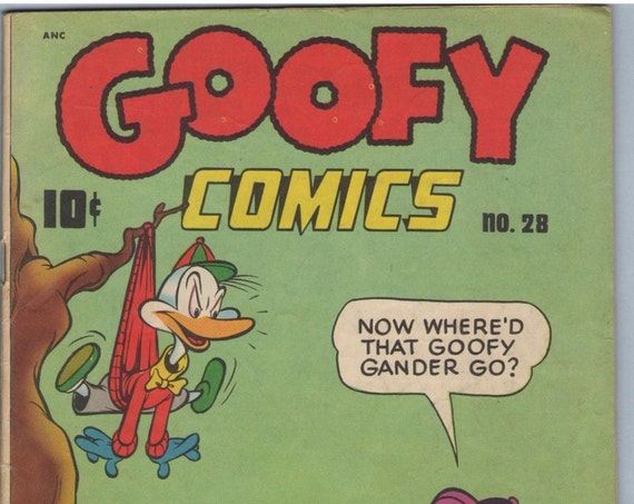 Goofy Comics 28 Oct 1948 VG (4.0)