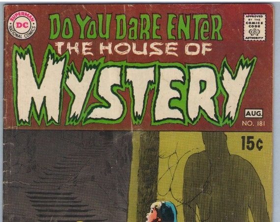 House of Mystery 181 Aug 1969 VG (4.0)