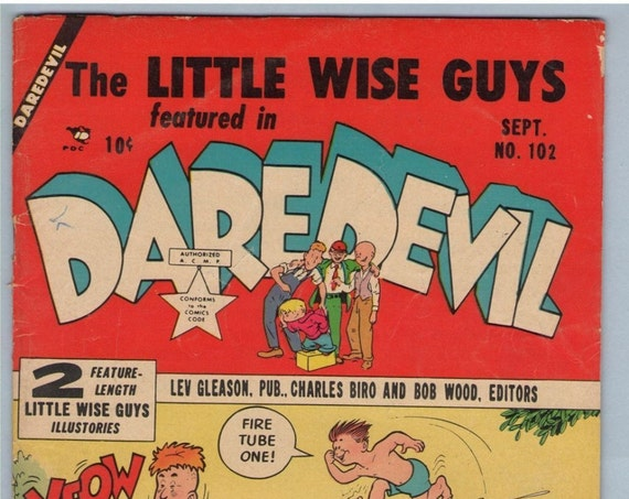 Daredevil Comics 102 Sep 1953 VG+ (4.5)