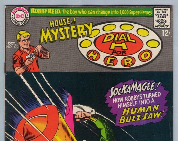 House of Mystery 170 Oct 1967 VF (8.0)