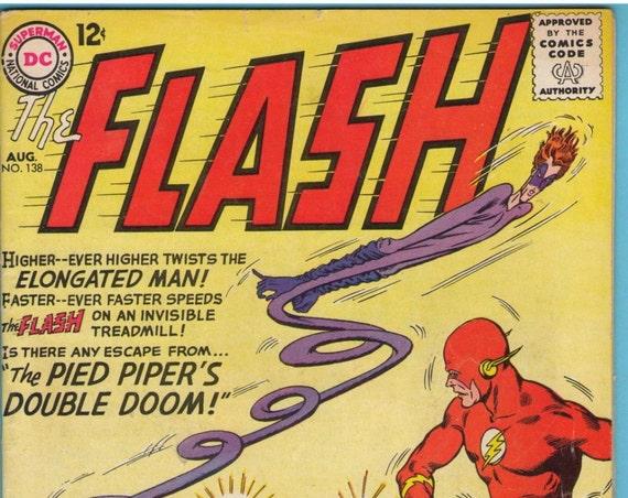 Flash 138 Aug 1963 VG+ (4.5)
