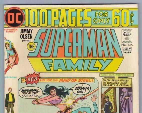 Superman Family 165 Jul 1974 VF (8.0)