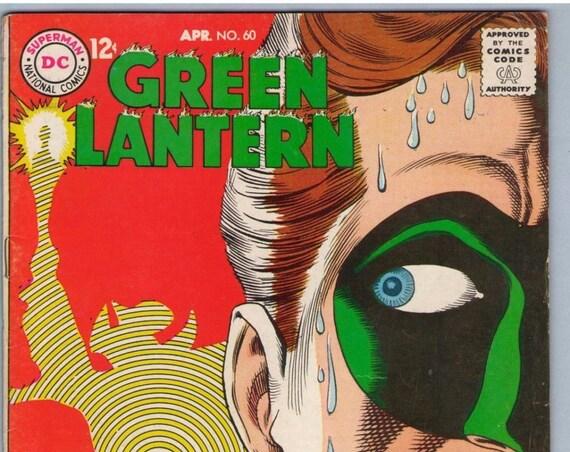 Green Lantern 60 Apr 1968 VG+ (4.5)