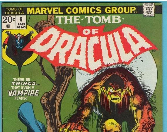 Tomb of Dracula 6 Jan 1973 VF- (7.5)